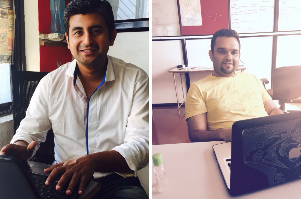 Bineet Desai, CFO & Head-Business Development and Snehal Dhruve, Co-founder & CTO