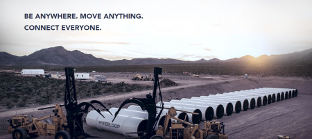 Hyperloop One puts traditional transportation to shame in its first successful propulsion test in Nevada