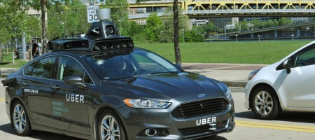 Uber started testing its driverless car in Pittsburgh