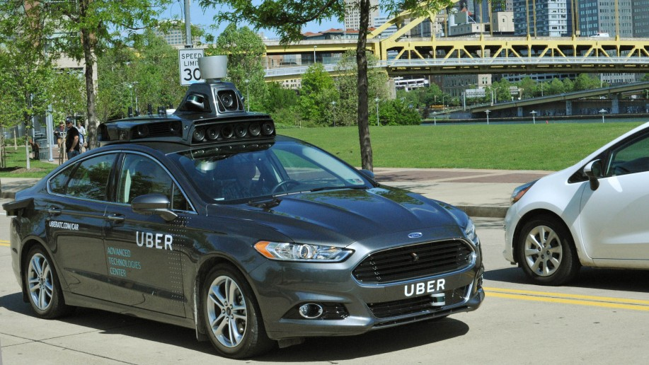 uber driverless ford fusion