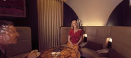 Reimagine VR with Nicole Kidman onboard an Etihad A380