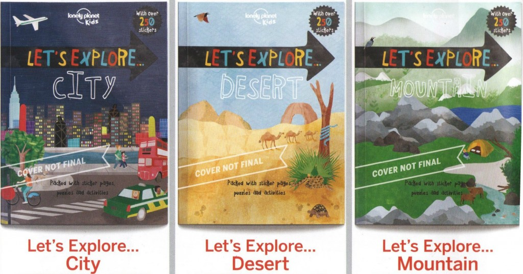 Some of the upcoming titles under Lonely Planet Kids