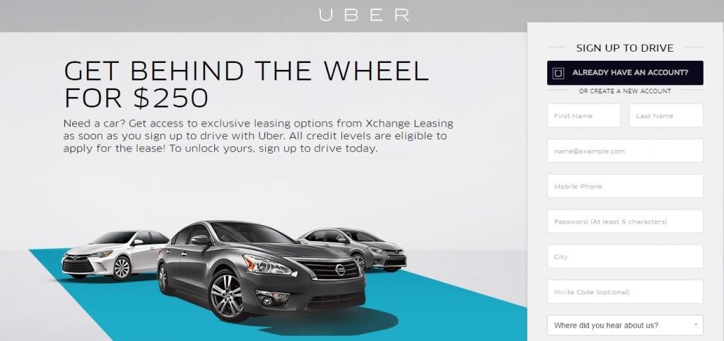 uber xchange leasing
