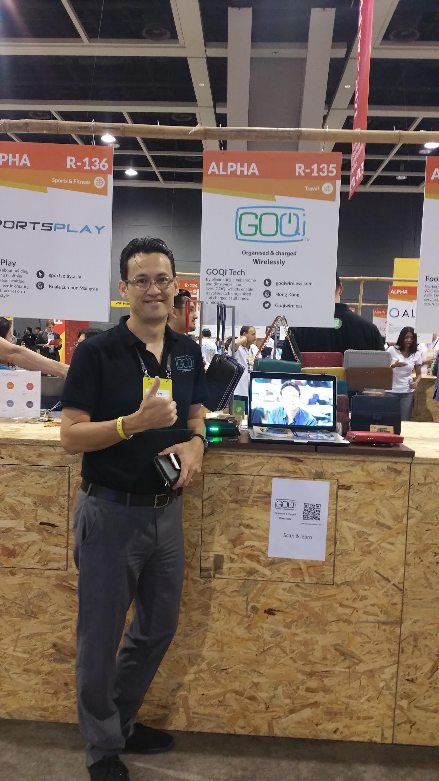 This Hong Kong entrepreneur's dream is to create a cable free life for all travellers