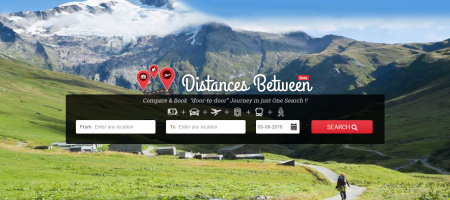 DistancesBetween brings door-to-door journey planning to India