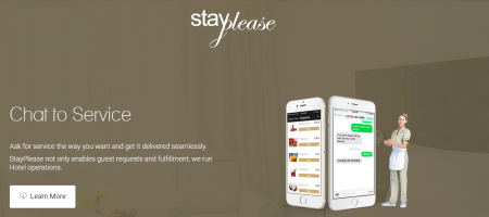 StayPlease integrates requests by guests into a chat platform