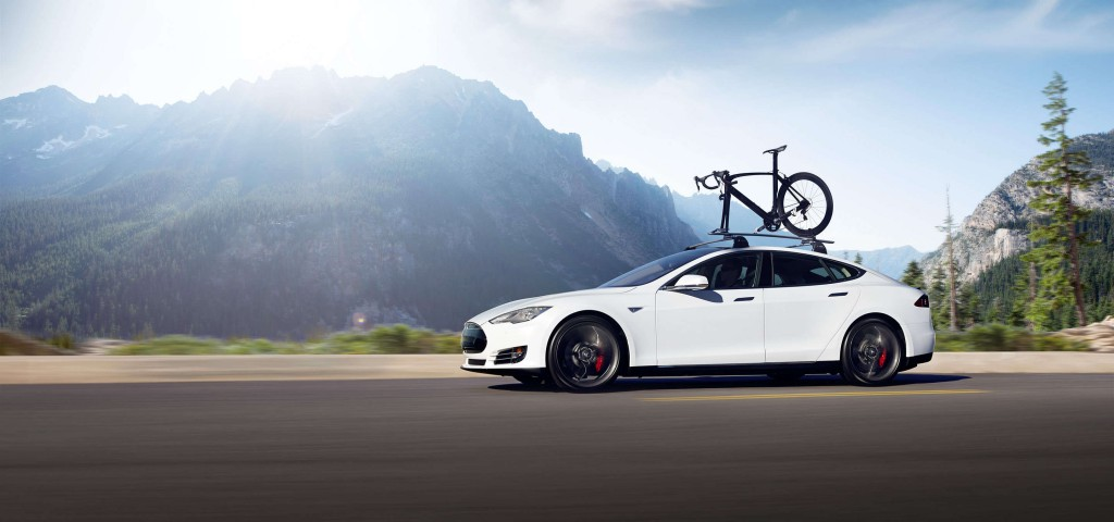 tesla model s driverless car
