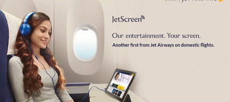 The JetScreen service by Jet Airways could be the most iconic change for India's domestic flight industry