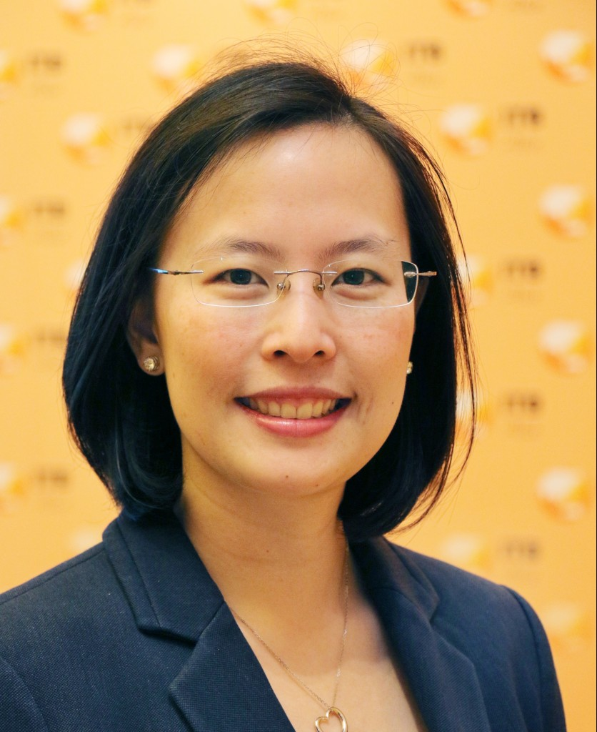 Ms. Katrina Leung, Executive Director of Messe Berlin (Singapore), the organiser of ITB Asia