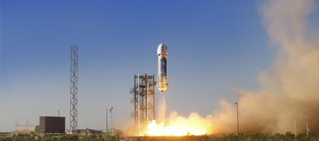 Affordable space travel comes closer as Jeff Bezos' Blue Origin aces in-flight escape test