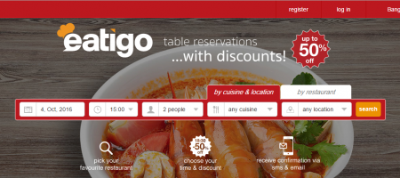 Tripadvisor serves Series B to Eatigo in its very first SEA plunge