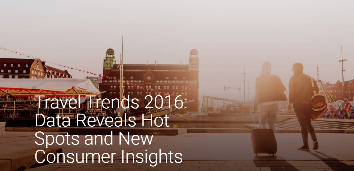 Travel trends 2016: Analysis reveals consumer insights and new destinations