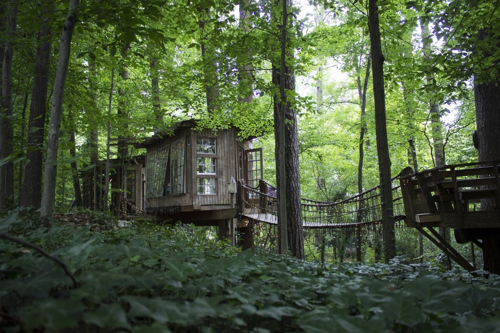 Treehouse in Atlanta, Georgia.