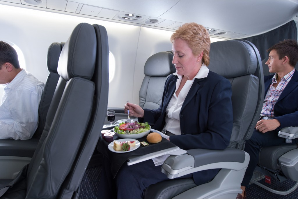 Americans New E-175 First Class Seats