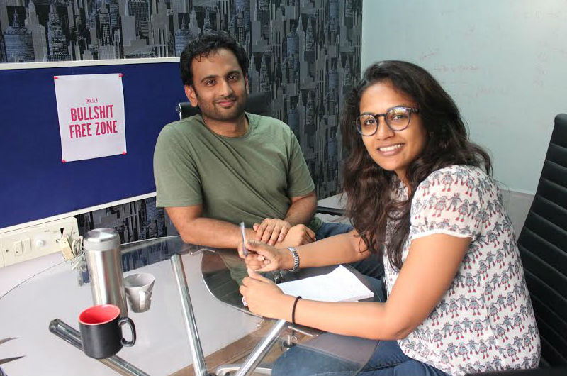 RentSetGo Founders Sunith and Shruti