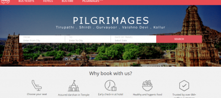 RedBus luring pilgrims with tailored packages for them