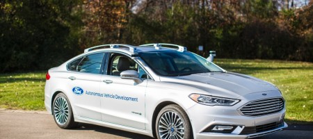 Ford is revving up the future of driverless cars