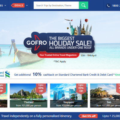GoFro partners with over a dozen leading travel brands to add more options for customers