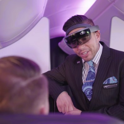 Is this what in-flight service will look like in future?