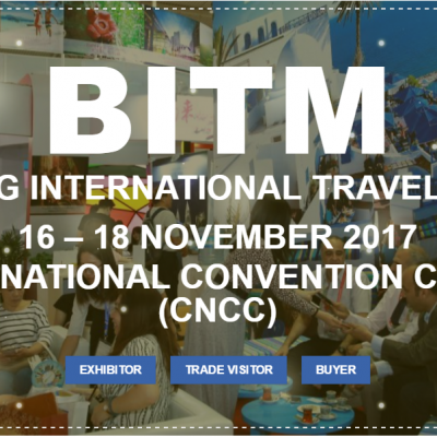 BITM 2017 could be your window into the Chinese travel market