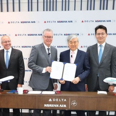 Delta and Korean Air create trans-Pacific joint venture