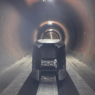 The Hyperloop pod is a sign of the future of travel