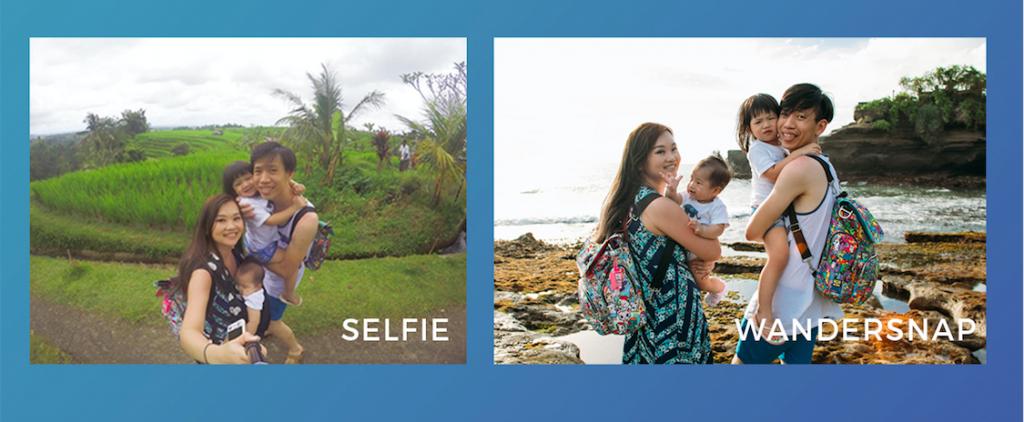 Selfie vs WanderSnap