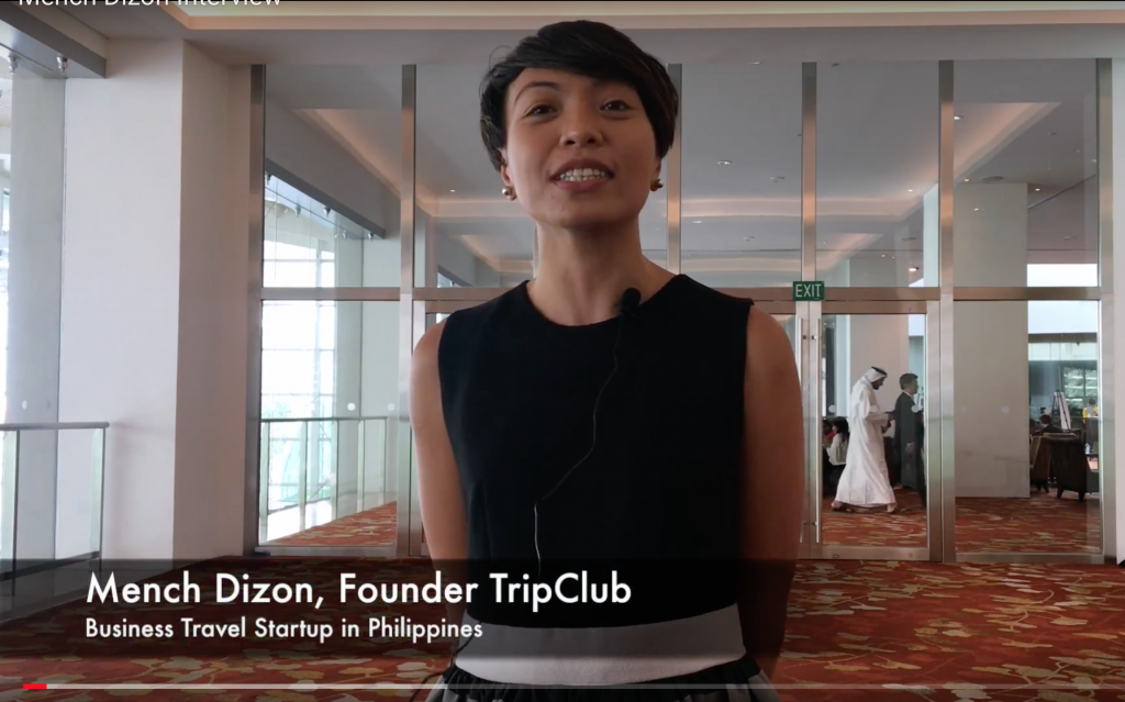 Mench Dizon, TripClub travel startup in Philippines