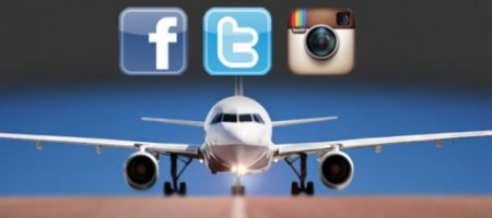 How top airlines in the world use social media