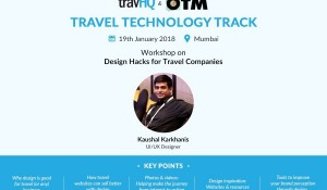 Workshops on Design and Social-media Hacks for your travel company, courtesy Travel Technology Track by OTM & TravHQ
