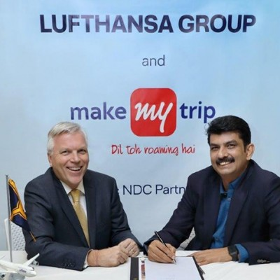 Lufthansa Group ties up with MakeMyTrip to expand customer access to flight products