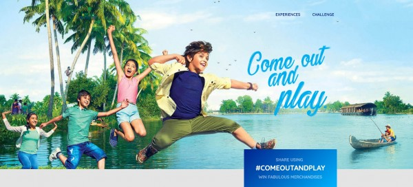 Kerala's latest monsoon campaign is urging tourists to #ComeOutAndPlay