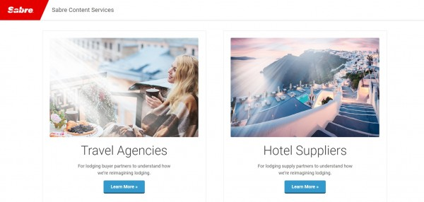 Sabre integrates Booking.com listings into its industry-first Content Services for Lodging platform