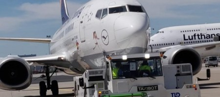 Soon 'TaxiBots' to tow airplanes to cut fuel costs, fight pollution