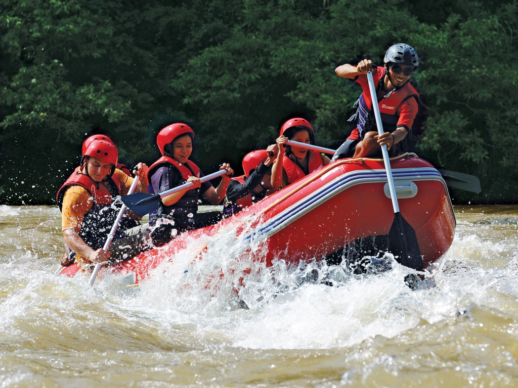 Rafting in Pahang